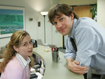 Why is no one talking about how weird it is that John Krasinski and Jenna Fischer loved each other?