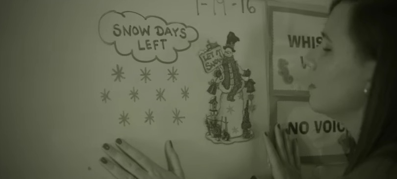 This teacher just posted a perfect Adele parody all about snow days