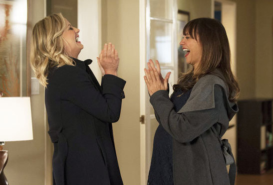 Beautiful land mermaids Amy Poehler and Rashida Jones are coming back to NBC