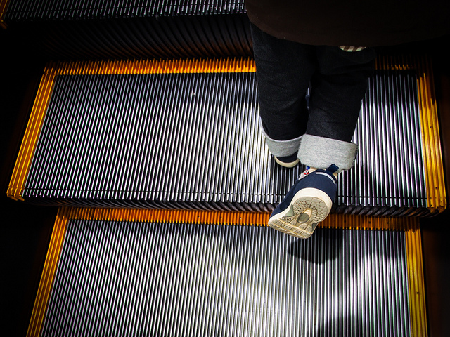Turns out, we might have been using escalators wrong for years