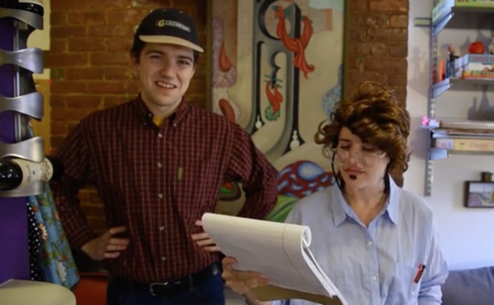 These two comedians want to bring dad poems to your coffee table