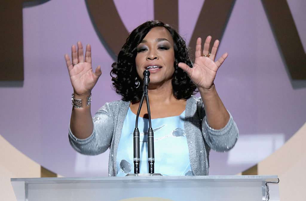 Shonda Rhimes had the perfect reaction to winning her PGA Award