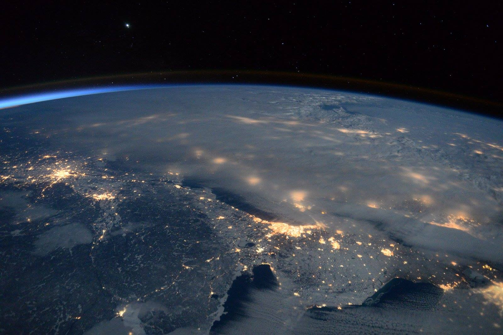 What Winter Storm Jonas looks like from outer space