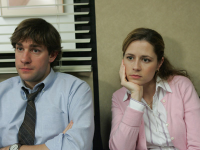 "John Krasinski didn't ""genuinely love"" Jenna Fischer, according to John Krasinski"