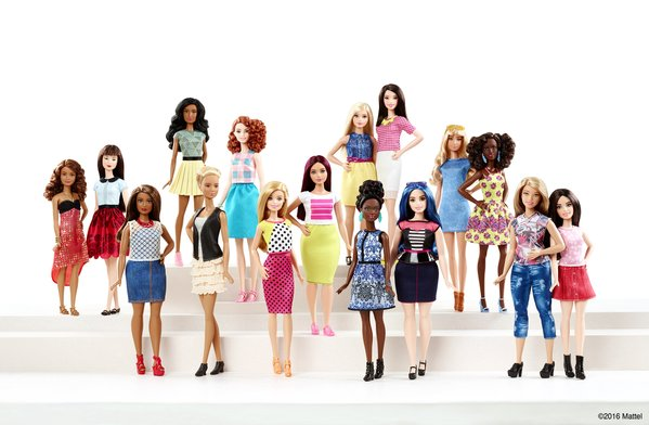 Mattel is finally making Barbies with diverse body types