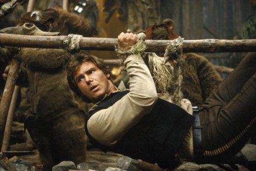 "Han Solo is ready to give us an early tour of ""Star Wars"" Land"