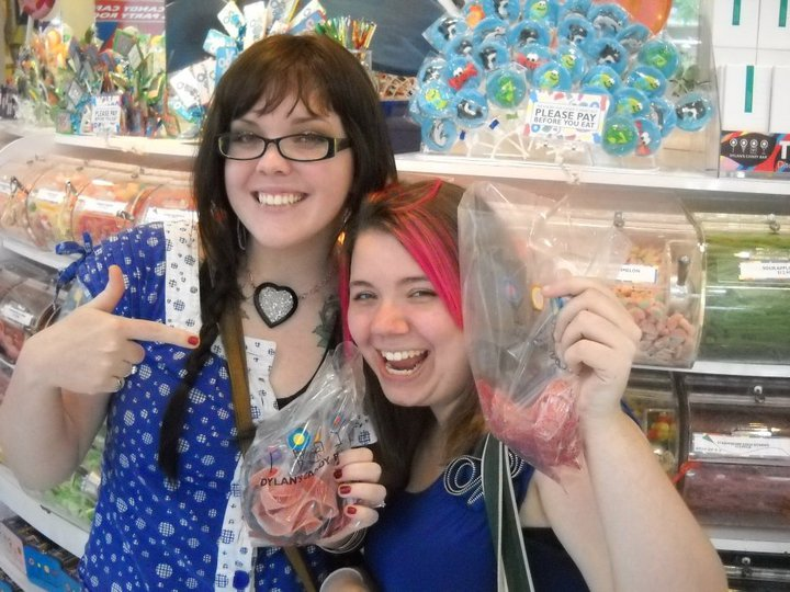 """""""The Duff"""" author Kody Keplinger interviews her author BFF Amy Lukavics about horror, writing horror, and candy"""