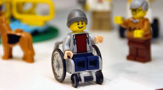 Lego does something awesome and reveals their first ever wheelchair piece