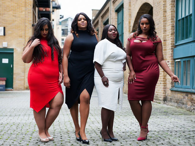 Finally, a company is making amazing tights for curvy women of color