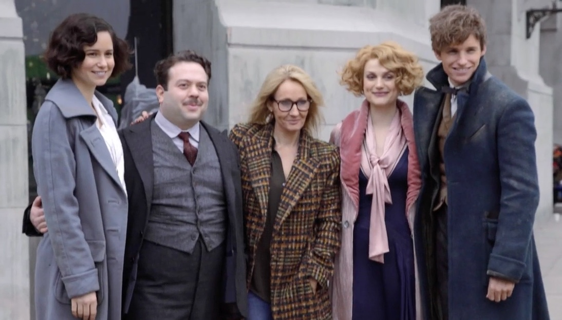 "Freaking out over the newly released ""Fantastic Beasts"" footage"