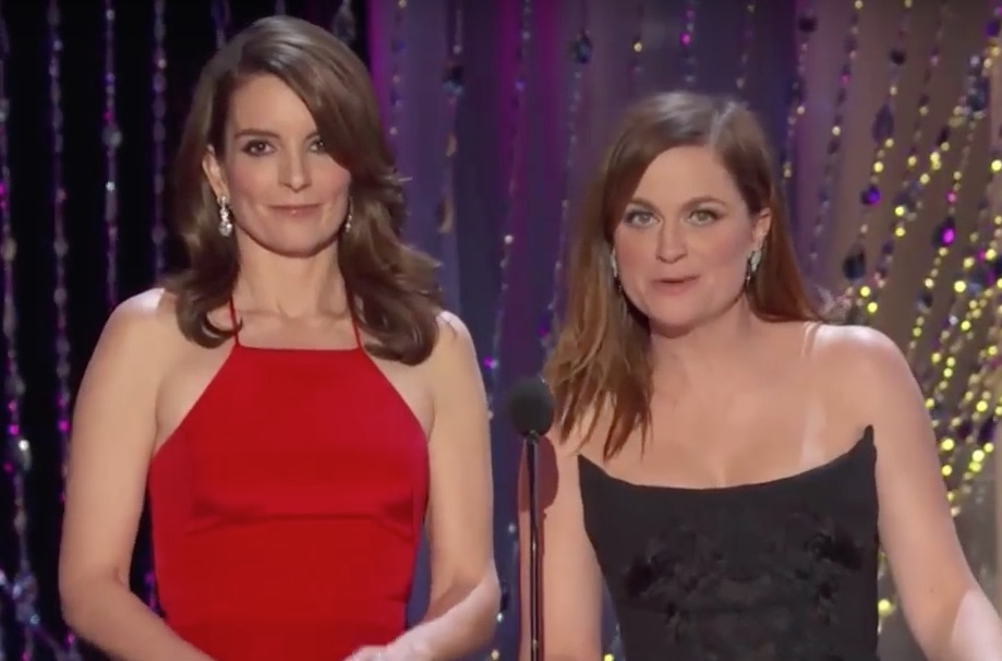 Proof that Tina Fey and Amy Poehler need to present every award, at every show, for the rest of time