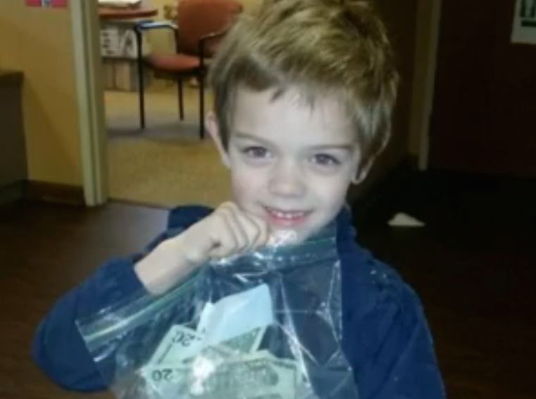 A preschooler just donated all his piggy bank money to his teacher for the best reason, and now we're crying
