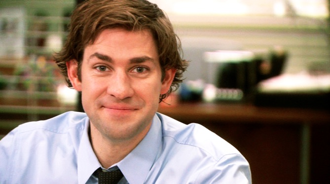 John Krasinski was ALMOST Captain American. Now he wants to fight him.