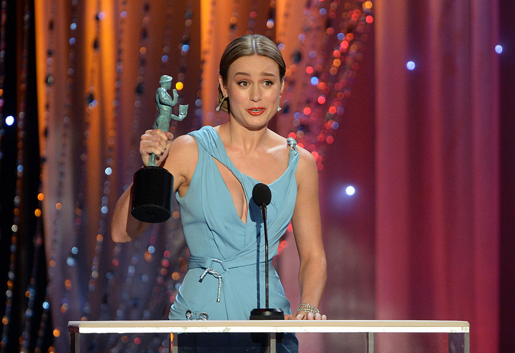 Brie Larson's touching SAG speech reminds us that we all feel alone sometimes