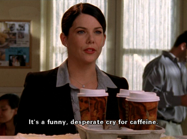 "Here's how much money Lorelai probably spent on coffee in ""Gilmore Girls"""