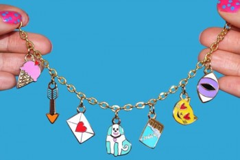 Decorate your wrist with the cutest charm bracelet ever