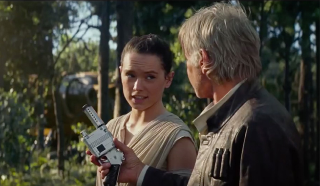 "Just so you know, Rey is 19 in ""Star Wars: Force Awakens"""
