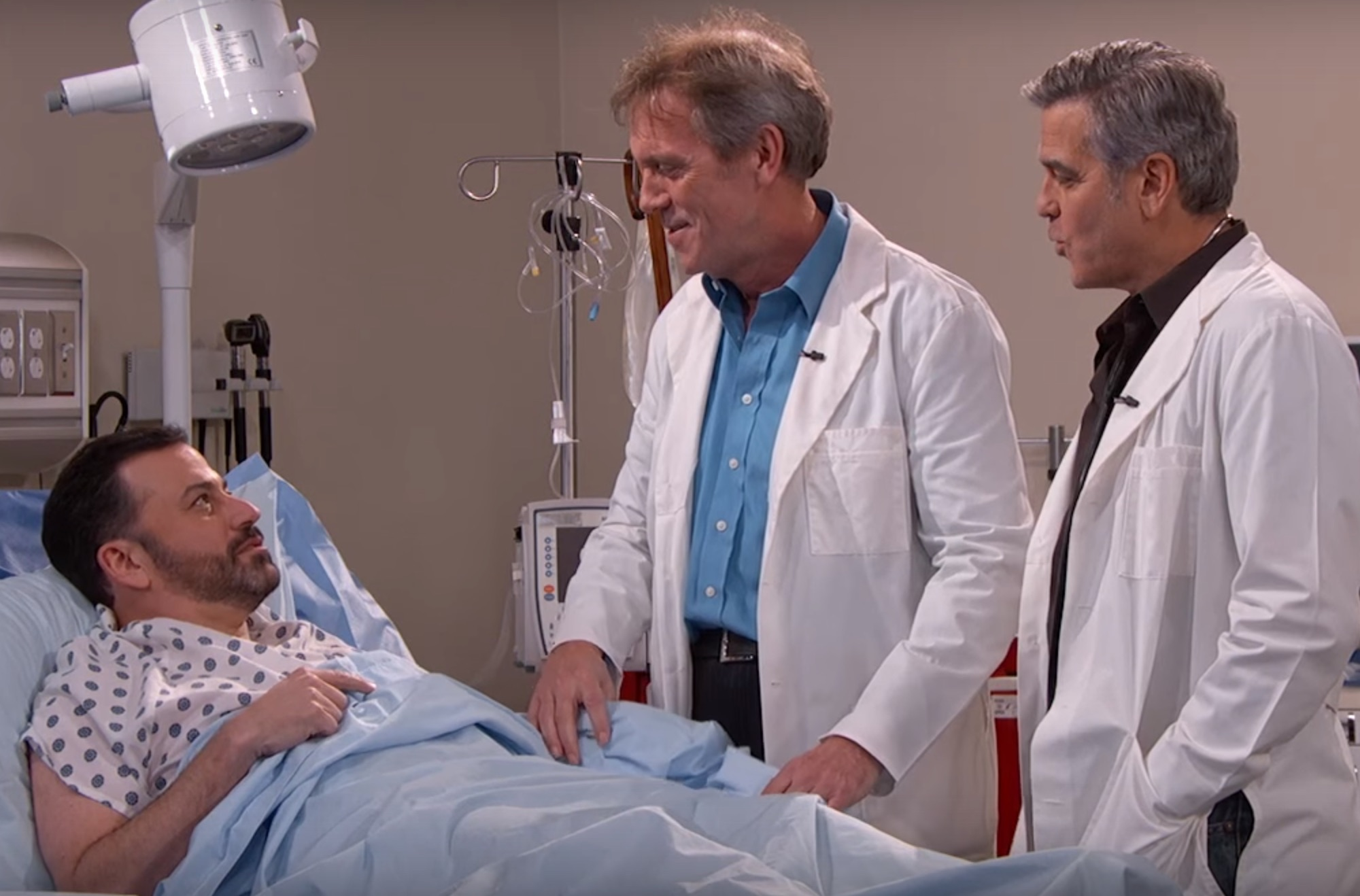 "Jimmy Kimmel and George Clooney tried to reunite the cast of ""E.R"""