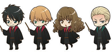 "These ""Harry Potter"" manga characters are accio cuteness"