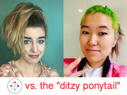 "Hollywood's most powerful stylist just coined the ""ditzy ponytail,"" so naturally we tested it out"
