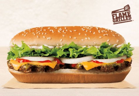 Burger King's new extra-long, buttered cheeseburger is a real thing you can consume