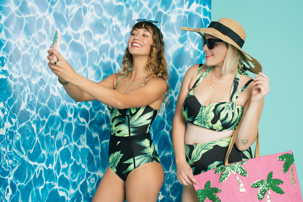 ModCloth just launched their inclusive new swimsuit line and we're SO ready for summer