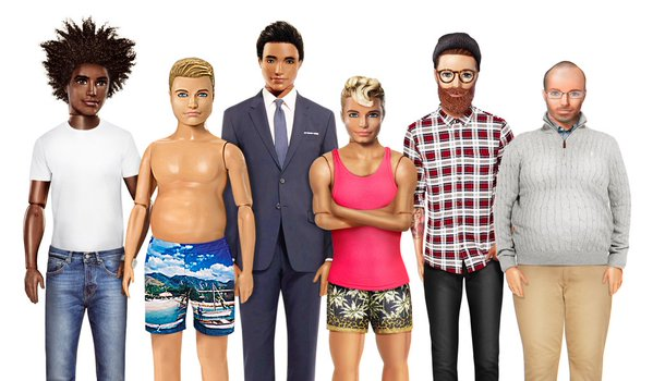 This company brilliantly reimagined Ken dolls with realistic bodies