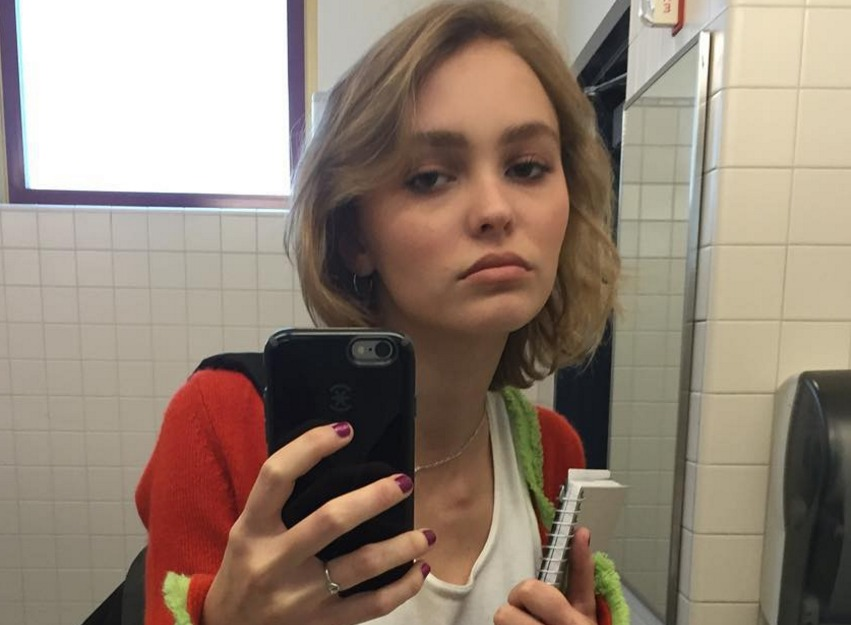 "Lily-Rose Depp says her ""coming out"" on Instagram was ..."