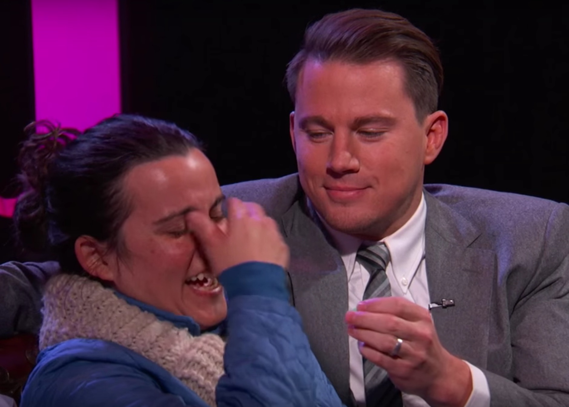 Here's what it would be like if Channing Tatum was your Valentine