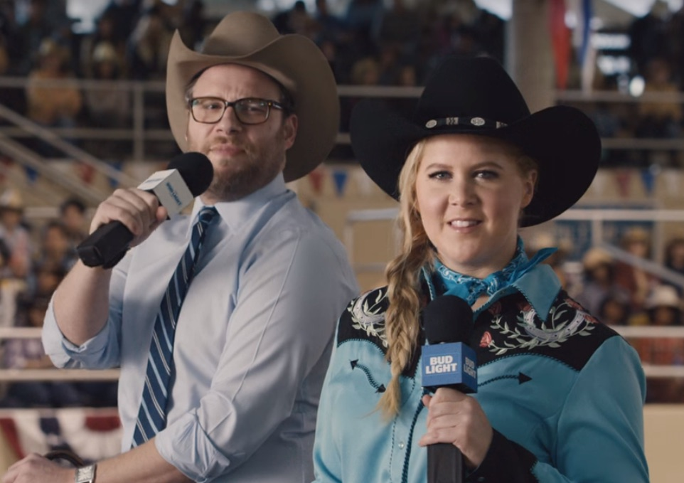 Amy Schumer's Super Bowl commercial is here, and naturally, it's perfect
