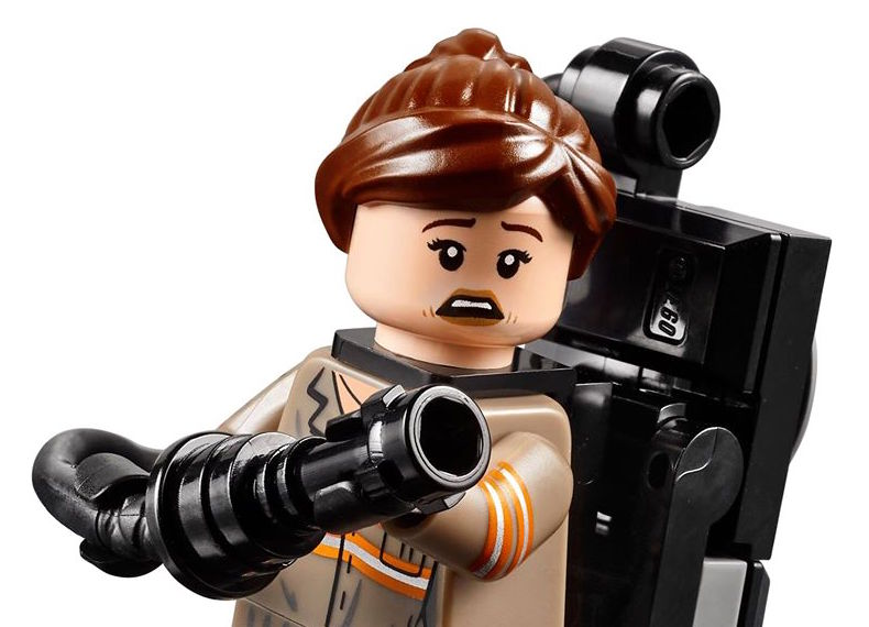 Is there a spoiler in the new Lady Ghostbusters Lego set?