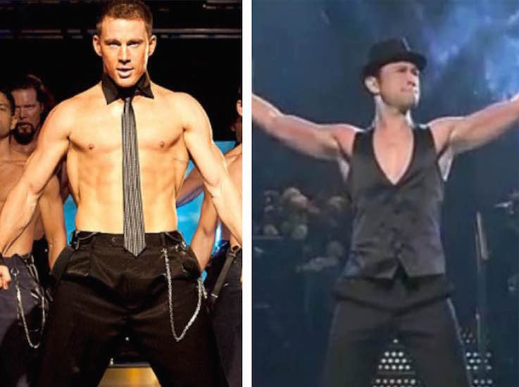Be still our hearts, Channing Tatum and Joseph Gordon-Levitt are doing a movie-musical together