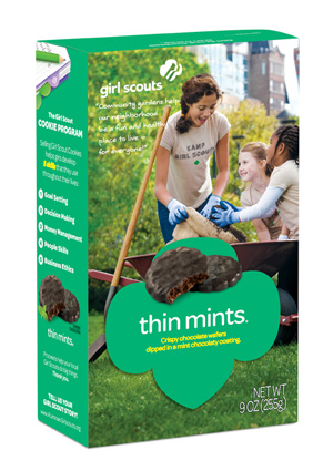 This suspected criminal was just caught, thanks to a box of Girl Scout cookies