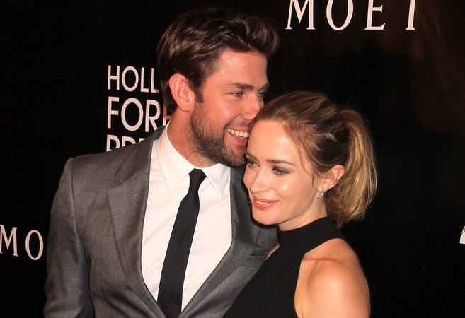 John Krasinski and Emily Blunt are officially the world's cutest parents
