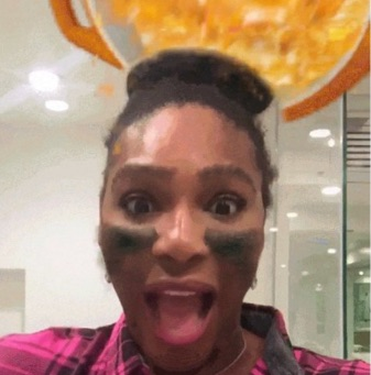 Um, kind of obsessed with Gatorade's Super Bowl Snapchat lens