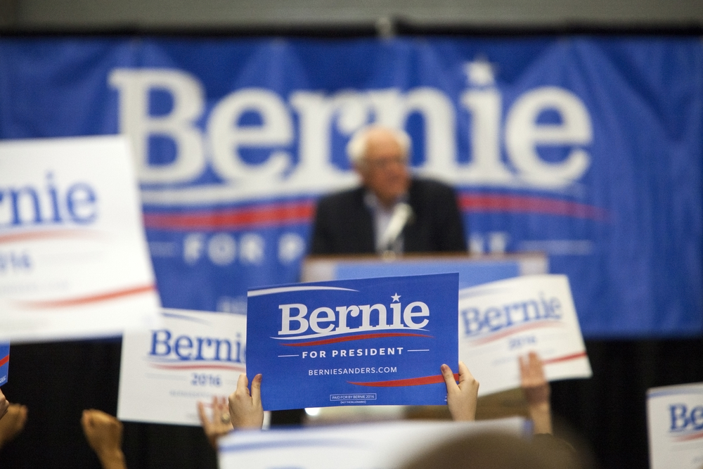 This woman got banned from Tinder for using it to share her love for Bernie Sanders