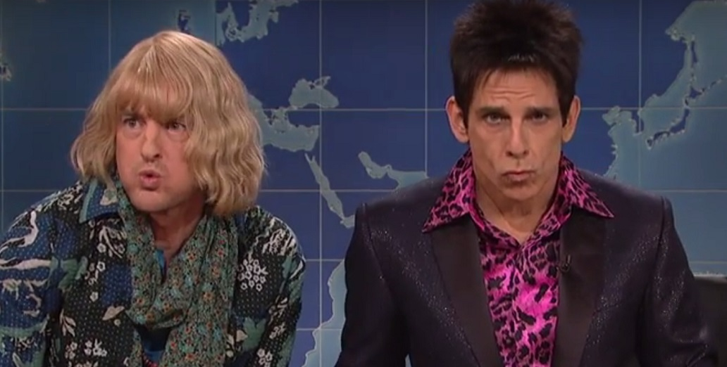 Zoolander and Hansel critiquing presidential candidate fashion is too hilarious