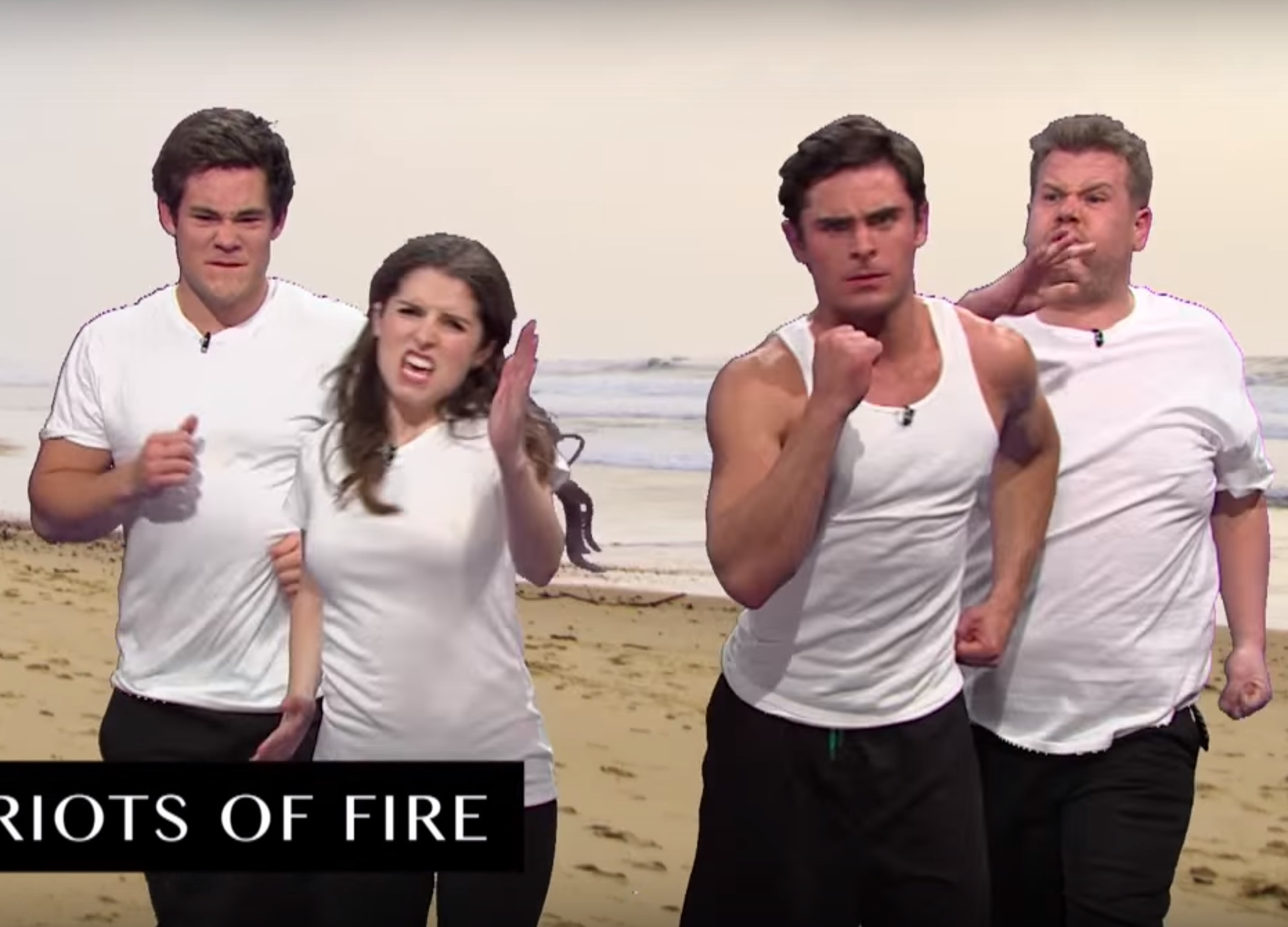 Anna Kendrick, Zac Efron, and Adam Devine just recreated every sports movie in seven minutes