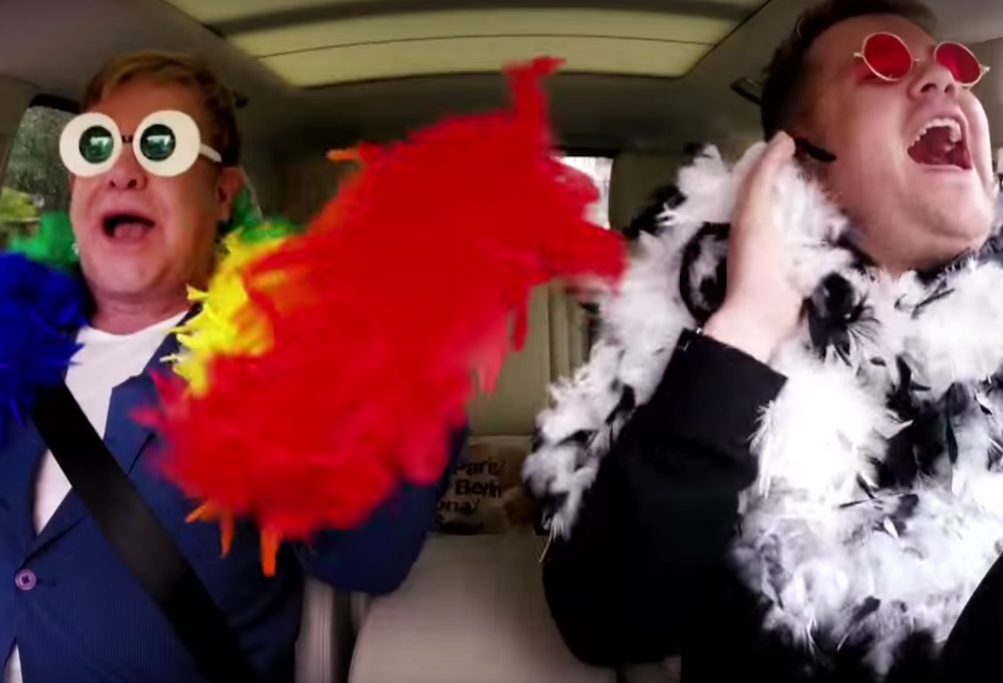 "The Elton John ""Carpool Karaoke"" is as amazing as we hoped it would be"