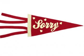 This cute pennant can be useful for many reasons