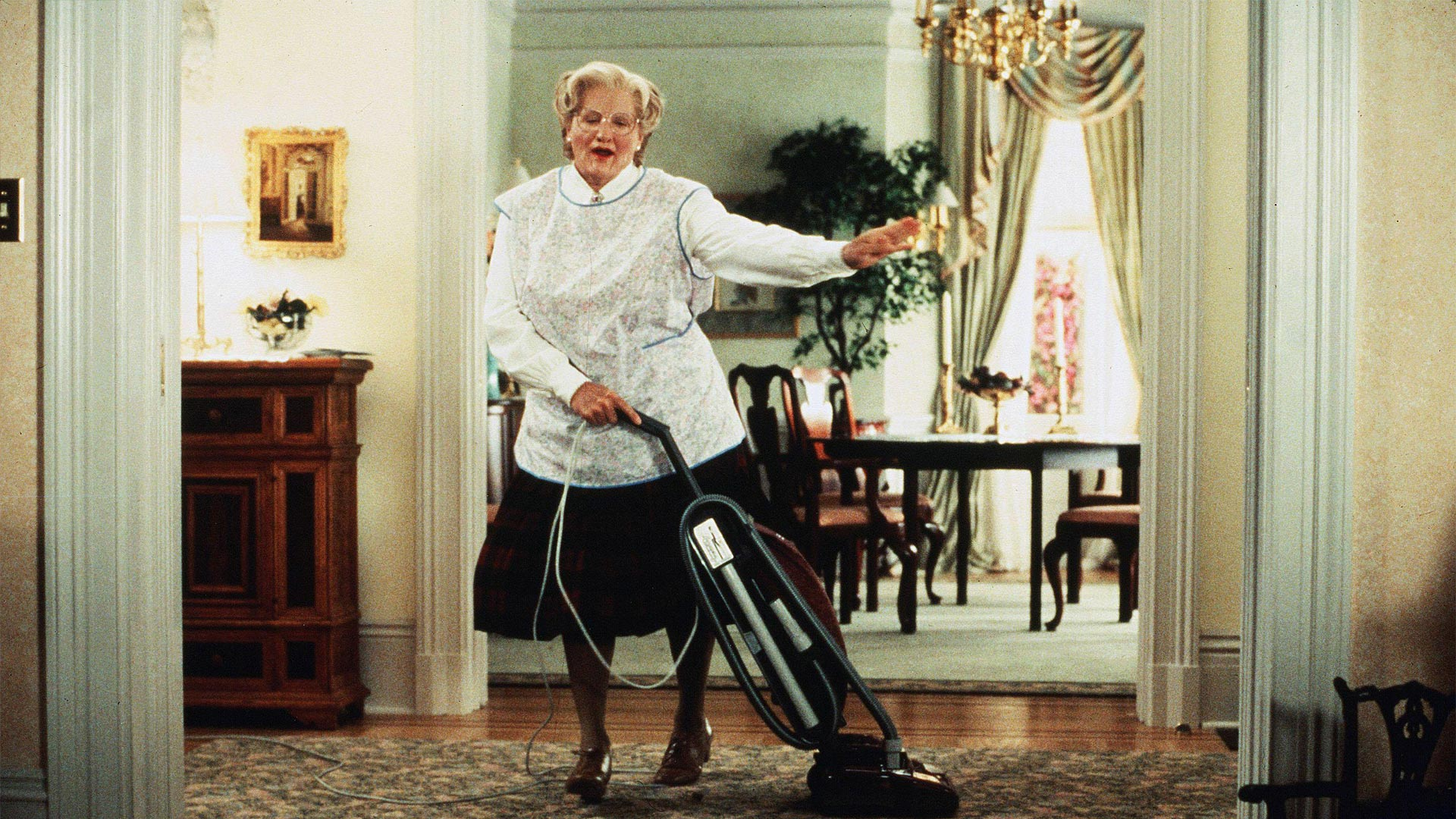 "These lost scenes from ""Mrs. Doubtfire"" are going to wreck you"