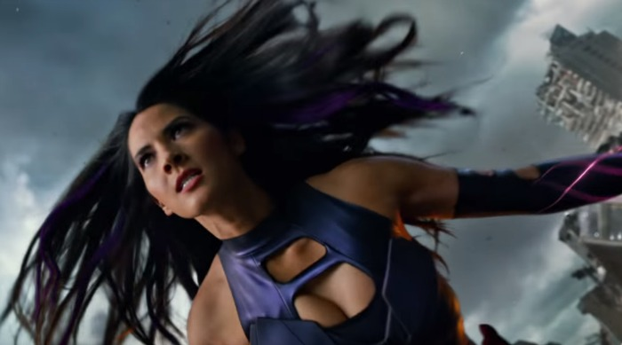 "Olivia Munn looks absolutely terrifying (and badass) in the new ""X-Men: Apocalypse"" trailer"