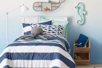 Three cheers for Target, who's introducing gender-neutral bedding and home goods for kids