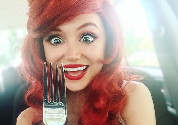 This woman has spent $14,000 to transform into almost every Disney princess you can imagine