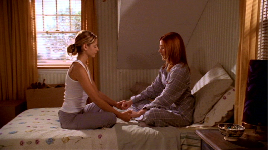 """How """"Buffy the Vampire Slayer"""" helped me mourn my best friend"""