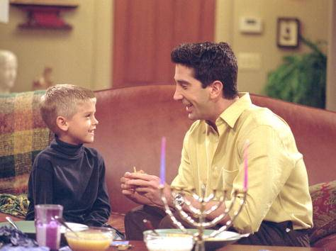 "Ross Geller's son from ""Friends"" is starring in this new CW show"