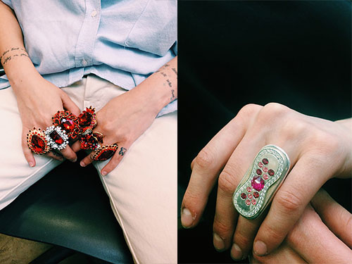 You'll want to wear Lili Murphy-Johnson's beautiful period-inspired jewelry