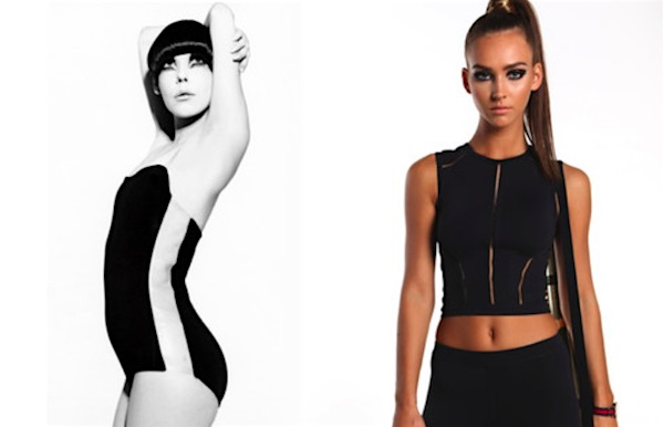 The activewear trend is getting some help with this 1960s fashion icon