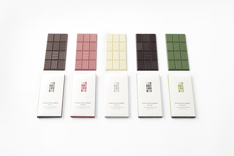 We're dying to try these gorgeous textured chocolate bars