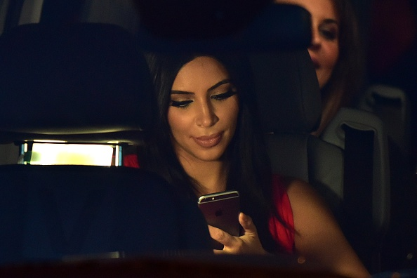 So we should probably talk about Kim Kardashian's secret Snapchat account